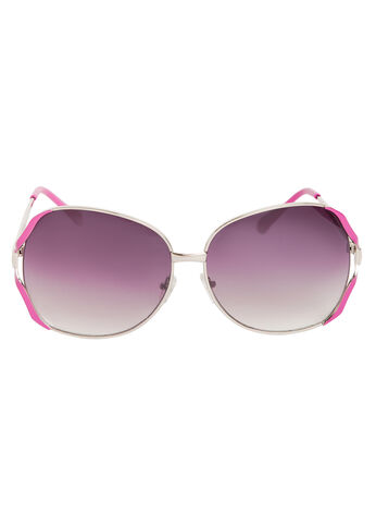 Bright Color Aviator Sunglasses