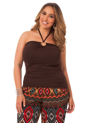Rouched Halter Top
