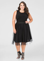 Tulle Skirt Dress