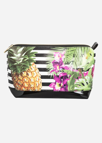 Pineapple Travel Make-Up Bag