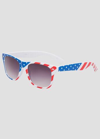 Stars And Stripes Wayfarer Sunglasses