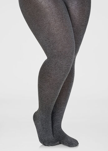 Thread Blend Opaque Footed Tights