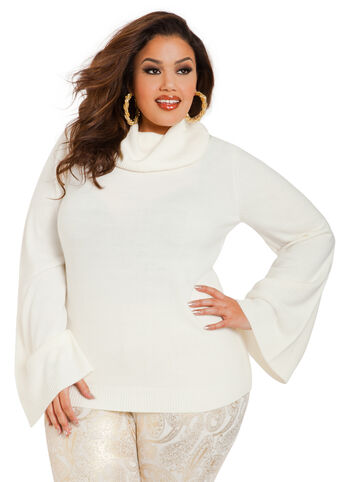 Angel Sleeve Sweater