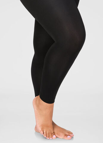 Fleece Footless Tights