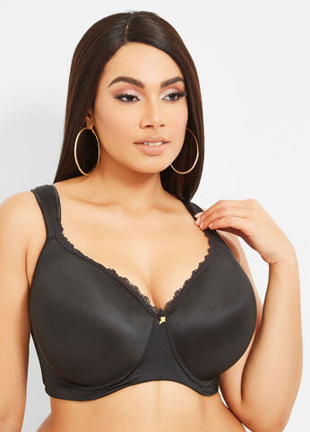 Ashley Stewart Coupons for Full Coverage Butterfly Bra
