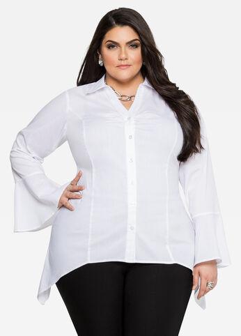 Sharkbite Bell Sleeve Shirt