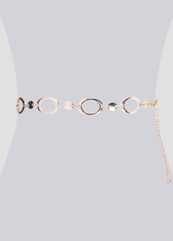 Oval Chain Belt