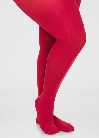 Footed Opaque Tights 402009481413