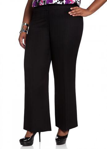 Straight Leg Linen Pant