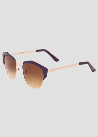 Colored Top Frame Sunglasses