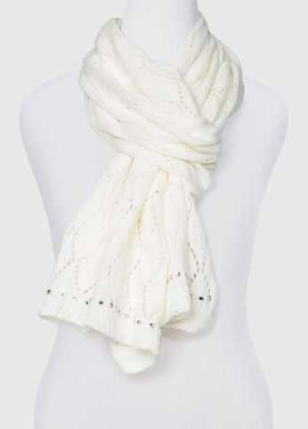 Diamond Weave Novelty Scarf