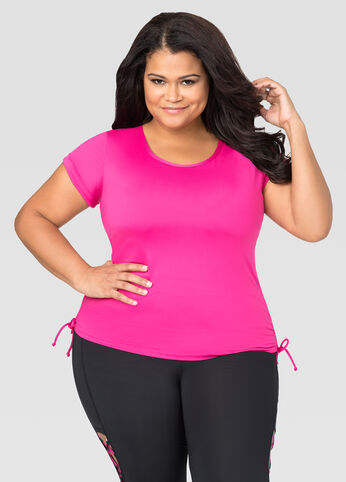Ruched Side Active Top