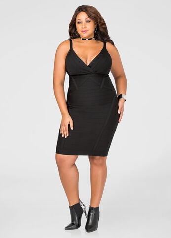 Bandage Bodycon Tank Dress