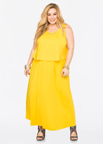 Gold Bar Maxi Dress
