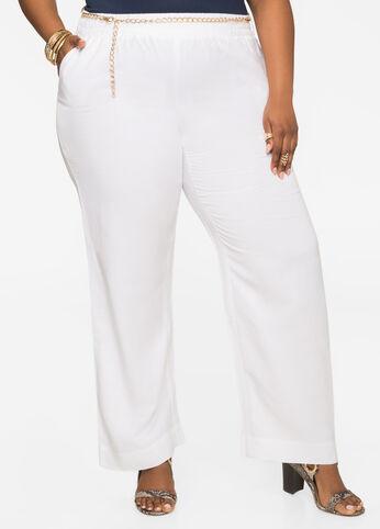 Chain Link Linen Pants