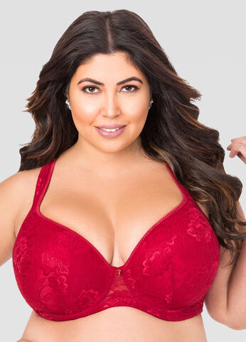 Supportive Plus Size Bra, 38D to 46G