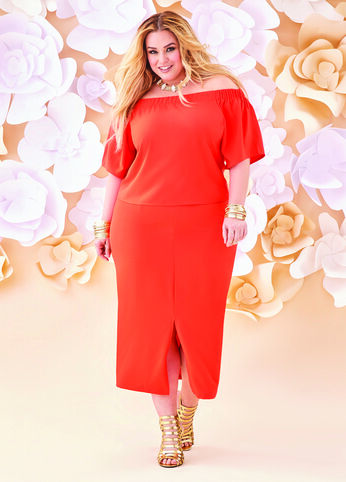 Plus Size Outfits - Monochrome Madness