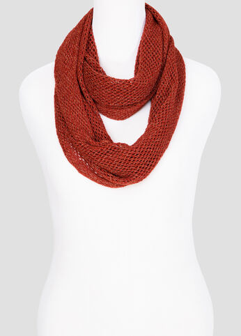 Crochet Infinity Scarf at Ashley Stewart