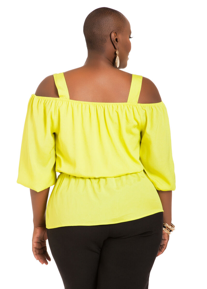 Off The Shoulder Ruffle Blouse 23