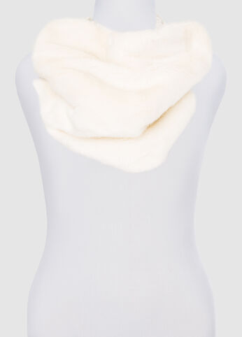 Faux Fur Chunky Snood at Ashley Stewart