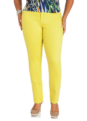 Mandalay Lime Jeggings