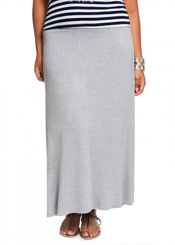 Jersey Knit Long A-Line Skirt: This flowing A-line silhouette skirt is made of travel-friendly, wrinkle-free knit. This fantastic skirt is just another great piece from our Jersey Knit Separates collection.4/5(5).