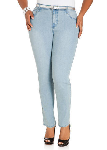 Petite Light Wash Skinny Jeans