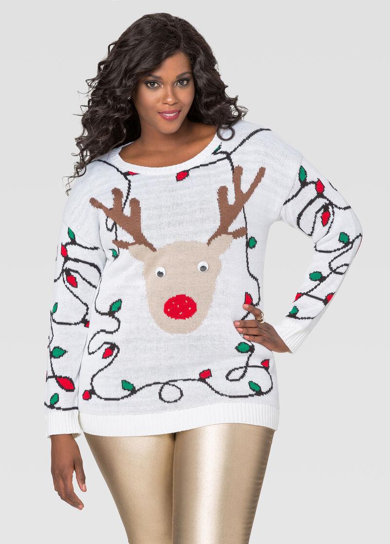 Lightup christmas sweater