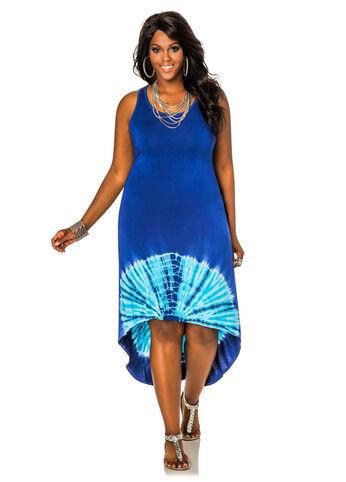 Hi-Lo Tie Dye Dress