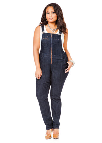 Suspender-Back Overalls