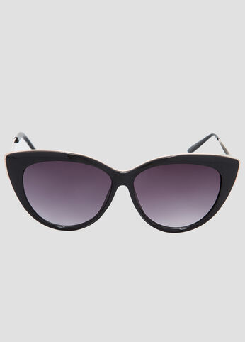 Gold Trim Cat Eye Sunglasses