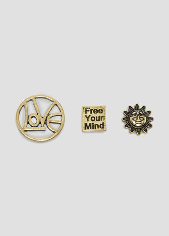 Free Your Mind Tac Pin Set