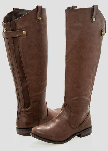 Rory Riding Boot - Wide Width Wide Calf