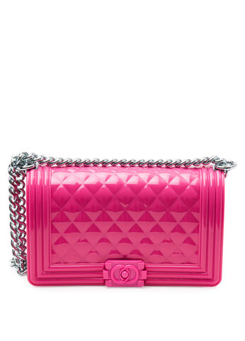 Large Quilted Chain Bag