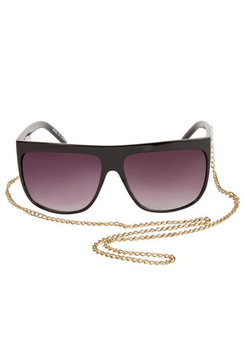 Drape Chain Sunglasses