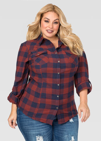 Classic Plaid Shirt