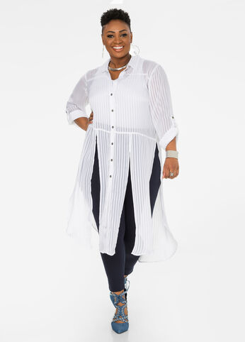 Shadow Stripe Duster