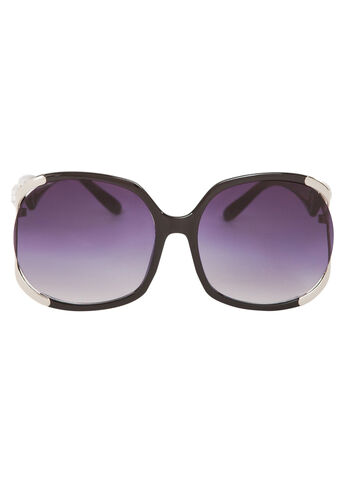 Round Open Lens Sunglasses