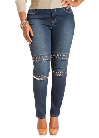 Aztec Studded Jeans