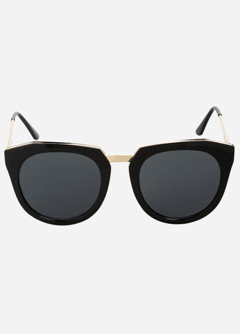 Abstract Cat Eye Sunglasses