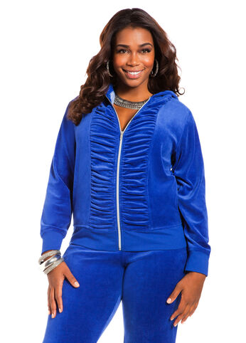 Ruched Front Jacket