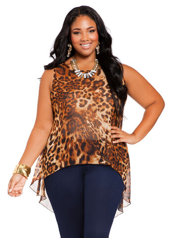 Web Exclusive: Animal Print Top