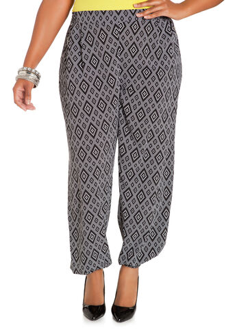 Diamond Print Soft Pants