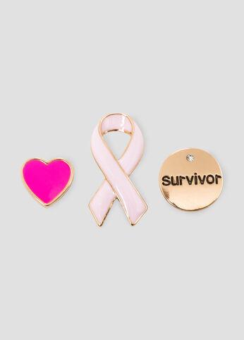 #ASGives Breast Cancer Awareness 3-Pin Set