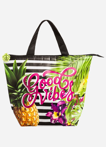 Good Vibes Tropical Lunch Bag