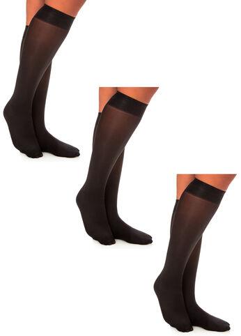 3 Pack Basic Trouser Socks