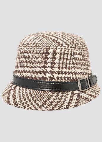 Tweed Small Brim Hat