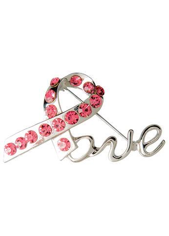 #ASGives Breast Cancer Awareness Pink Ribbon Pin