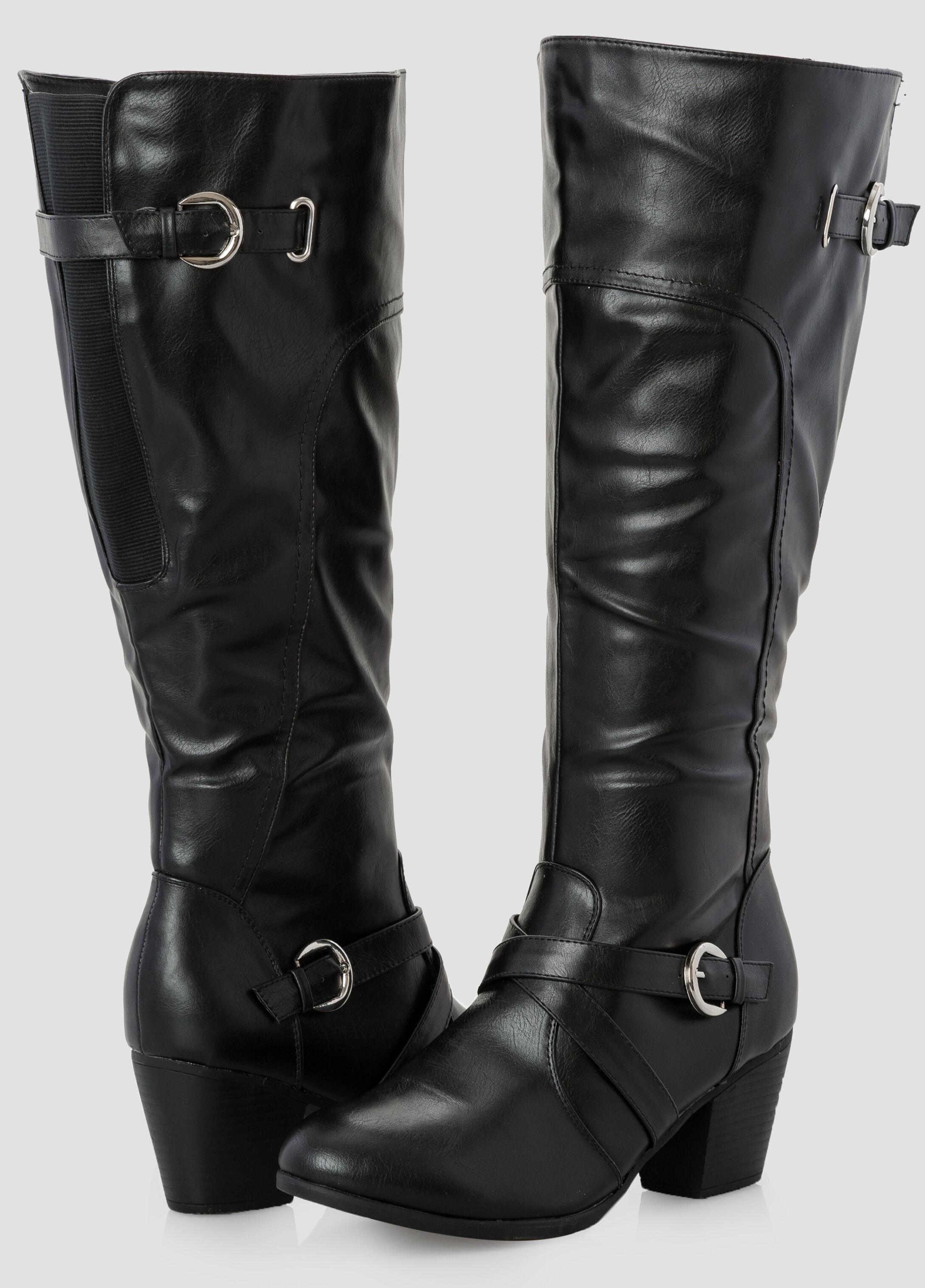 Short Chunky Heels