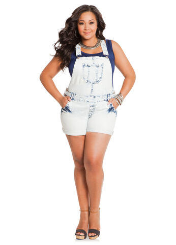 Suspender Back Shortalls